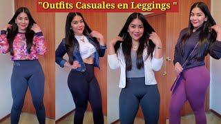 Outfits Casuales En #LEGGINGS Para El GYM