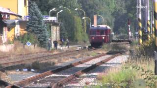 preview picture of video 'Národní den železnice / Nationaler Tag der Eisenbahn (Děčín / Tetschen, 2011, HD)'