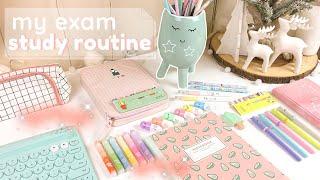 Final exam study routine ✨ study tips