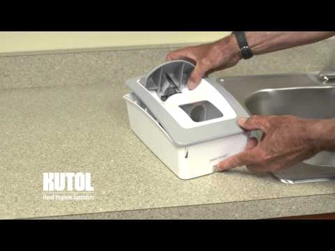 Kutol 174 Pro Designer Series Wall Mount Dispenser Keep