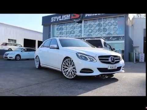 Mercedes E250 fitted with Zenetti Drohne l Stylish Wheels