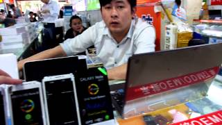 SED Electronics Market (Tablets Market) In Shenzhen Walk-through