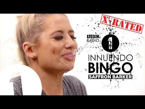 """Mass debating!"": Saffron Barker GETS WET on X-RATED Innuendo Bingo  | VERY STRONG LANGUAGE"
