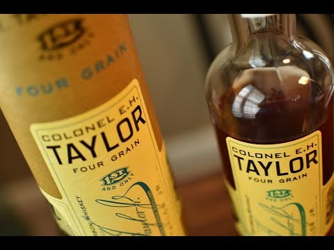 Colonel EH Taylor Four Grain Bourbon Whiskey Review – Whisky Bible's Whiskey of the Year 2018