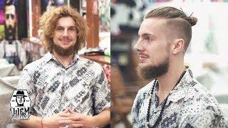 The Undercut Man Bun | Liem Barber Shops Collection