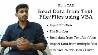 How to Import data from a Text File into Excel