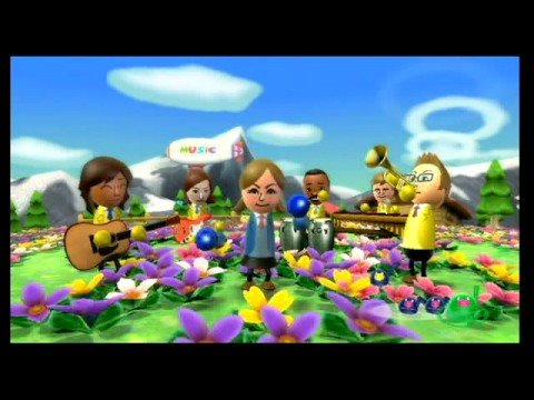 Видео № 0 из игры Wii Music (Б/У) [Wii]