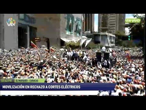 Oposicion venezolana a las calles ante colapso de servicios
