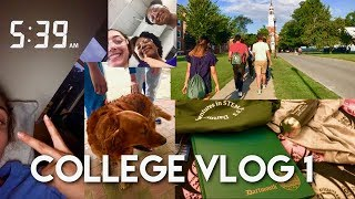 i'm on campus early!! // Dartmouth Adventures in STEM   College Vlog 1