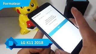 Formatear LG K11