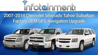 2007-2014 Chevrolet Silverado Tahoe Suburban Factory OEM GPS Navigation Upgrade - DIY Plug & Play!