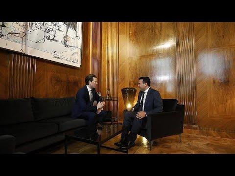 Καγκελάριος Αυστρίας: «Συγχαρητήρια σε Ελλάδα και Μακεδονία»…