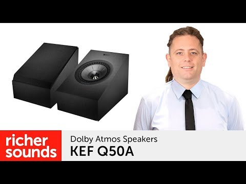 External Review Video BF7kiI_7eIM for KEF Q50a Dolby Atmos / Wall-Mount Loudspeaker