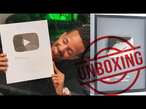 UNBOXING SILVER PLAY BUTTON - ArimaHeena
