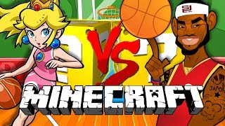 Minecraft: BASKETBALL LUCKY BLOCK CHALLENGE | NBA 2K18 SHOWDOWN!!