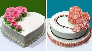 4 Fun & Creative Cake Decorating Tutorial | Most Satisfying Chocolate Cake Ideas Recipes | SO YUMMY