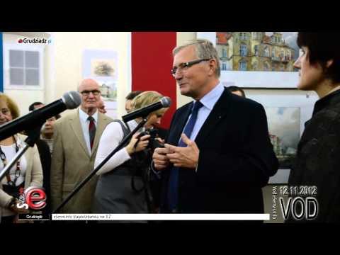 Grudziądz w akwarelach Zbigniewa Szczepanka - YouTube
