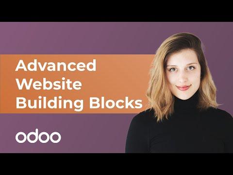 Erweiterte Website-Bausteine | Odoo Website