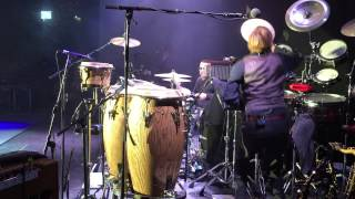 """Steve Norman (Spandau Ballet) & Sterling Campbell - """"Glow"""" percussion + drums in Odense, Denmark"""