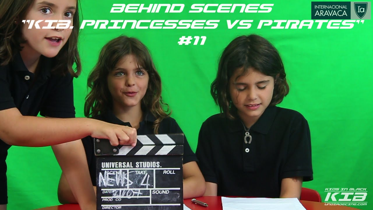 "Behind the Scenes: ""KIB. Princesses VS Pirates"" #11"