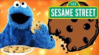 Sesame Street Cookie Monster Eating Mashup Fun Baby Kids Games