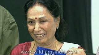 Veteran Actress Lalita Pawar At Marathi Film Festival