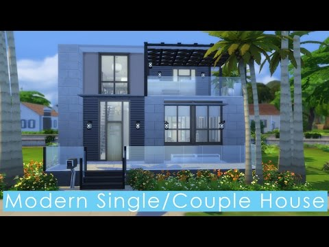 New Modern House Build For A Single Sim Or Couple The Sims Forums