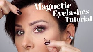 Magnetic Eyelashes Tutorial | Dominique Sachse