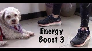 Tenis o Sneakers Adidas Energy Boots 3 una buena opción para entrenar, correr y sentirse cómodo