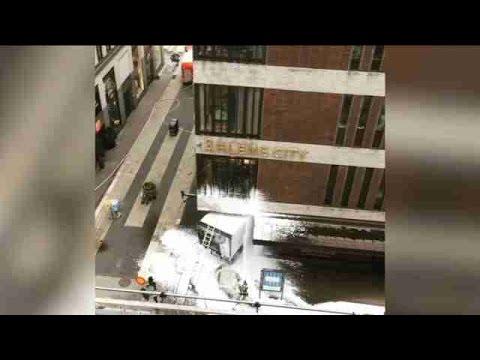Cuatro muertos dejó atentado terrorista en Estocolmo
