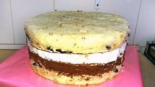 Бесподобный Рецепт Свадебного Торта С Шоколадным Кремом / Chocolate Wedding Cake Recipe