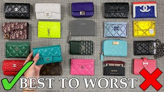 BEST To WORST | Ranking & Reviewing ALL My Luxury Cardholders | Mel In Melbourne