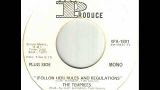 The Temprees - (Follow Her) Rules And Regulations.wmv