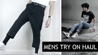MENS FASHION HAUL | TRY ON | (Zara, ASOS, Nike, Adidas, Thrift) 2017