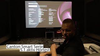 Genial!!! Canton Smart Serie 5.1 aktiv Hörtest - Lautsprecher und AV Receiver von Canton.