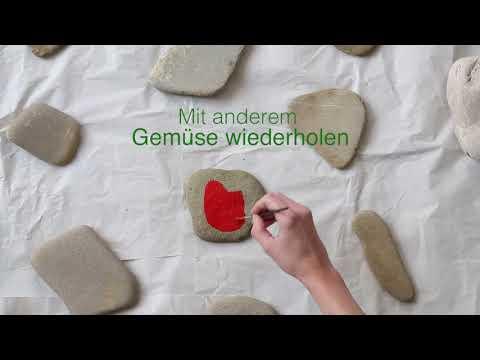 Gartengeheimnisse: DIY Deko Steine