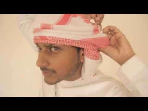 Download How to wear the Emarati Shemagh (Or Ghutra) - Tutorial HD Mp4 3GP Video and MP3