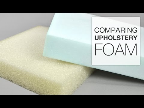 Comparing Upholstery Foam