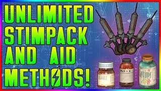 Fallout 76 - FASTEST Unlimited Stimpack & Aid Farming Locations! [Low & High Level] (Tutorial)