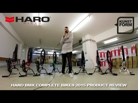 Haro BMX 2015 BMX bikes review | with english subtitles