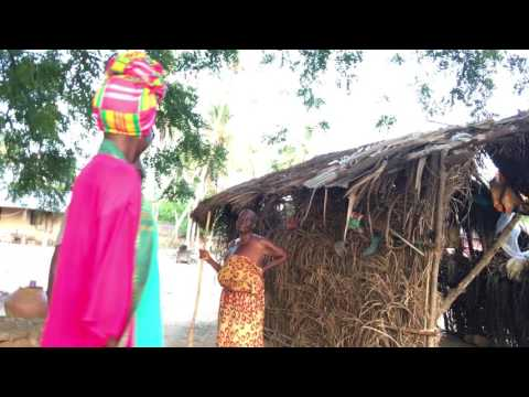 Village life in Ada Island!