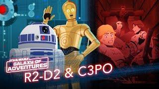 Episode 1.18 R2-D2 et C-3PO, le sauvetage du compacteur à ordures (VO)