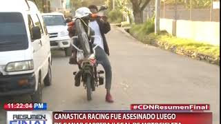 Canastica Racing fue asesinado luego de ganar carrera ilegal de motocicleta