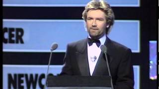 Phantom of the Opera wins Best Soundtrack/Casting presented by The Bee Gees | BRIT Awards 1988