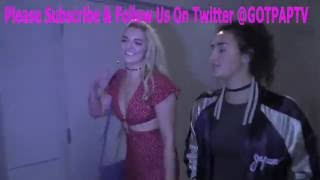 Rydel Lynch from R5 talks about if she will do Dancing With The Stars outside the Standoff Premiere