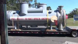 preview picture of video 'Perry Products - Heat Exchanger Shipment to Delaware City Refinery, Delaware'