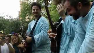 Dispatch - Circles Around the Sun - Live Acoustic - Washington Square Park - Up Close!