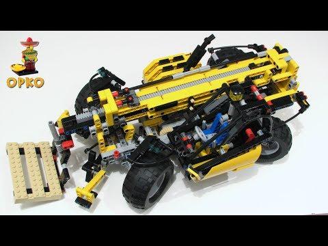 Vidéo LEGO Technic 8295 : Le monte-charges télescopique