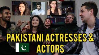 Like, DM, Unfollow: PAKISTANI ACTRESSES & ACTORS ft. REACT CAST