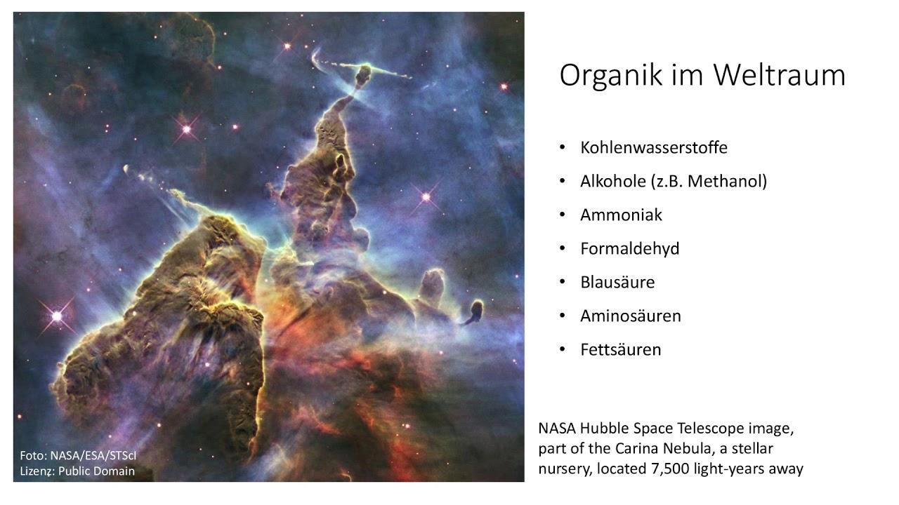 Lydia Baumann - Astrobiologie
